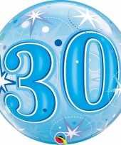 30 jaar geworden folie ballon 55 cm met helium