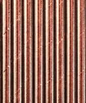 30x rosegouden feest rietjes 11 cm