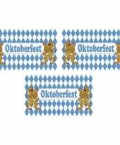 3x bierfeest beieren vlaggen blauw met wit 90 x 150 cm