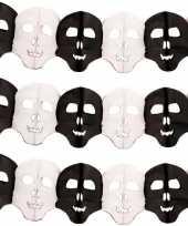 3x halloween doodskop slingers 6 meter
