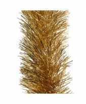 4x kerst lametta guirlandes goud 10 cm breed x 270 cm kerstboom versiering decoratie