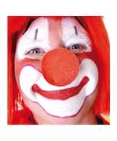 50x stuks carnaval neus neuzen rood