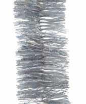 5x kerst lametta guirlandes zilver glitters glinsterend 7 5 x 270 cm kerstboom versiering decoratie