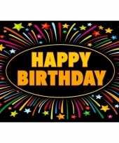 5x verjaardagskaart happy birthday 21 x 14 8 cm