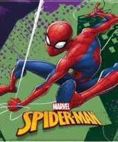 60x marvel spiderman servetten 33 x 33 cm kinderverjaardag