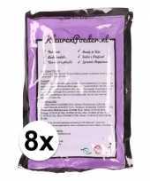 8x holi poeder paars 100 gram