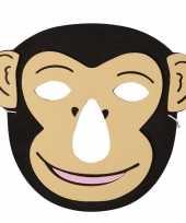 Apen foam masker voor kinderen