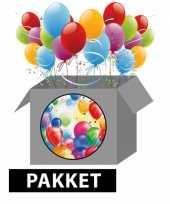 Ballonnen versiering feestpakket