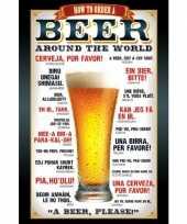 Bier maxi poster 61 x 91 5 cm