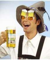 Bierglazen partybril