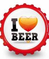 Bieropener i love bier