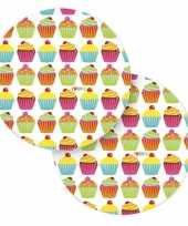Cupcake bordjes