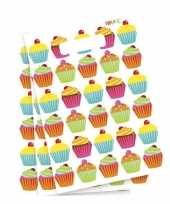 Cupcake feestzakjes 6 stuks