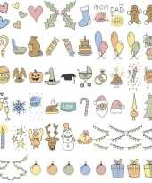 Deco lightbox holiday smileys 60 stuks