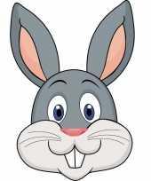 Dieren masker konijn voor kids