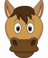 Dieren masker paard voor kids