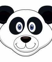Dieren masker pandabeer voor kids