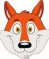 Dieren masker vos voor kids