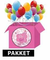 Geboorte feestpakket its a girl