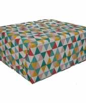 Gekleurd cadeaupapier 70 x 200 cm type 6