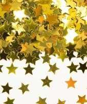 Gouden sterretjes confetti versiering van 42 gram