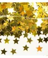 Gouden sterretjes confetti
