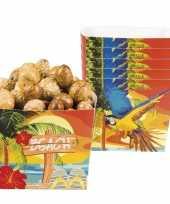Hawaii snack chips schaaltjes 6 stuks