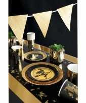 Heksen katten print feestje versiering pakket 2 8 personen