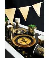 Heksen thema kinderfeestje versiering tafelloper 180 cm
