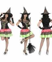 Heksenjurk met hoed voor dames