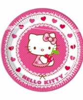 Hello kitty wegwerp bordjes