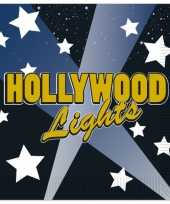 Hollywood servetten 16 stuks
