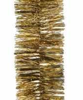 Kerst lametta guirlande goud 7 x 270 cm kerstboom versiering decoratie