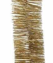 Kerst lametta guirlande goud glitters glinsterend 7 5 x 270 cm kerstboom versiering decoratie