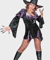 Kort sexy heksen jurkje