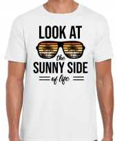 Look at the sunny side of life party outfit kleding wit voor heren