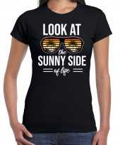 Look at the sunny side of life party outfit kleding zwart voor dames