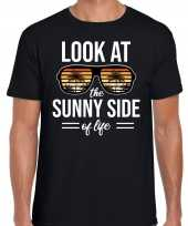 Look at the sunny side of life party outfit kleding zwart voor heren