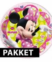 Minnie mouse feestjes pakket