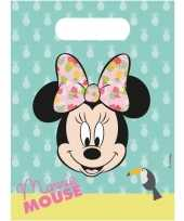 Minnie mouse traktatiezakjes 18 stuks