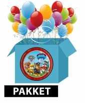 Paw patrol versieringspakket voor kinderfeestjes 10102774