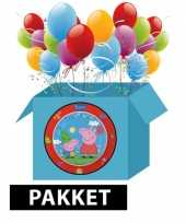 Peppa big feestpakket