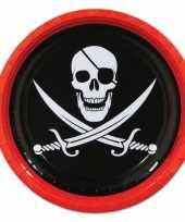 Piraten borden 8 stuks