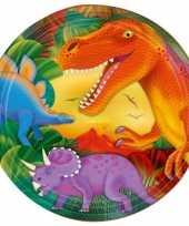 Prehistorie dinosaurus borden 8 stuks