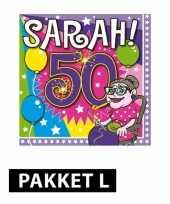 Sarah feestartikelen pakket large