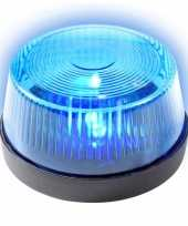 Signaallamp signaallicht blauw led licht 10 cm politie speelgoed feestverlichting