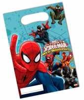 Spiderman feestzakjes 6 stuks