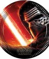 Star wars feest bordjes 16x