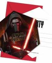 Star wars kinderfeestje uitnodigingen 10145183