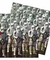 Star wars servetten 33 cm